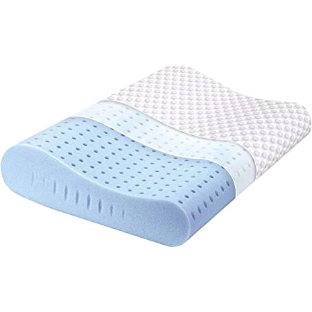 Pillow Memory Foam Soap Height 15cm Perforated with Aloe Vera Made in Italy