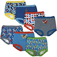 7-Pack Disney Mickey Mouse Toddler Boy Potty Training Pant