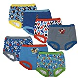 Disney Boys' Toddler Mickey Mouse 7pk Potty Training Pant, 4T