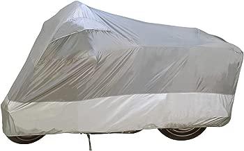 Dowco Guardian 26034-00 UltraLite Water Resistant Indoor/Outdoor Motorcycle Cover: Grey, Large