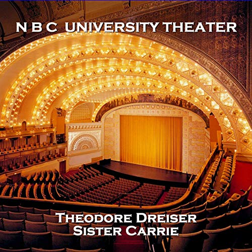 NBC University Theater: Sister Carrie cover art