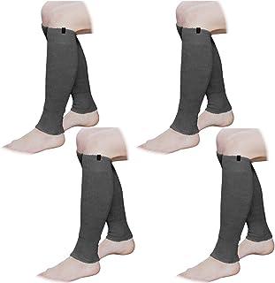 ふくらはぎ専用 ミーテ?ライトロング 4足組(ブラック4足)お得なマトメ買いセット 締め付けない ゆったりタイプ 長さ40cm