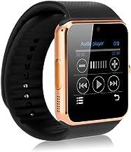 Zomtop Portatil Bluetooth Reloj Inteligente Gt08 Smart Health Reloj Teléfono con Ranura Para Tarjeta sim Para Android Samsung Htc Lg Nokia [Funciones] Ios Iphone 5/5S/6 Lus[Funciones Parciales]