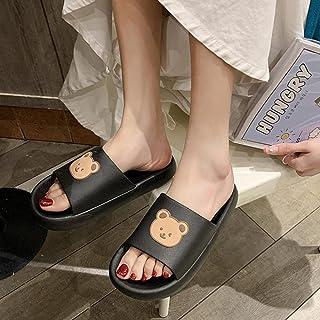 WENHUA Niño Niña Playa Zapatillas Sandalias Zapatillas de Estar por Casa de Hombre y Mujer, Zapatillas de baño Gruesas de ...
