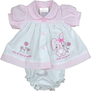 baby dress and knicker sets
