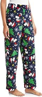 Women's Peanuts Snoopy Plush Fleece Sleep Pants
