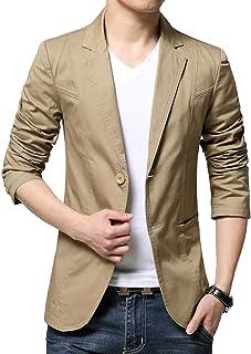 JHIJSC ジャケット メンズ スーツジャケット テーラードジャケット ビジネス カジュアル 綿 春秋冬 大きいサイズ