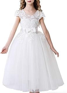 子供ドレス ロングドレス キッズドレス パーティードレス リボン付き ピアノやバイオリンの発表会 舞台 衣装 演奏会 誕生会 結婚式 ガールズ ワンピース フォーマル 2-13歳
