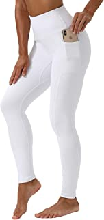 KUTAPU Workout Leggings for Women High Waisted 7/8 Length Soft Yoga Pants with Pockets