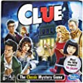 Clue Board Game; Mystery Board Game for Kids Ages 8 and Up by