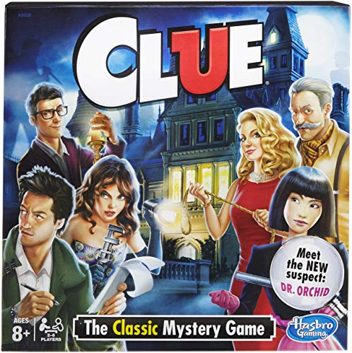 Hasbro Clue Board Game For 9 Year Old Boy