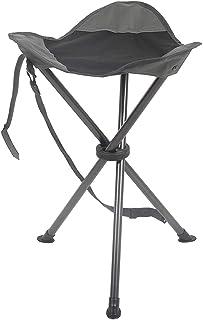 PORTAL Tall Slacker Chair Folding Tripod Stool for Outdoor Camping Walking Hunting Hiking Fishing Travel, Support 225 lbs