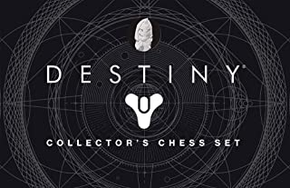 Destiny Chess Set | Destiny 2 Video Game Chess Game | 32 Custom Sculpt Collectable Figure Chess Pieces and Custom Chess Board
