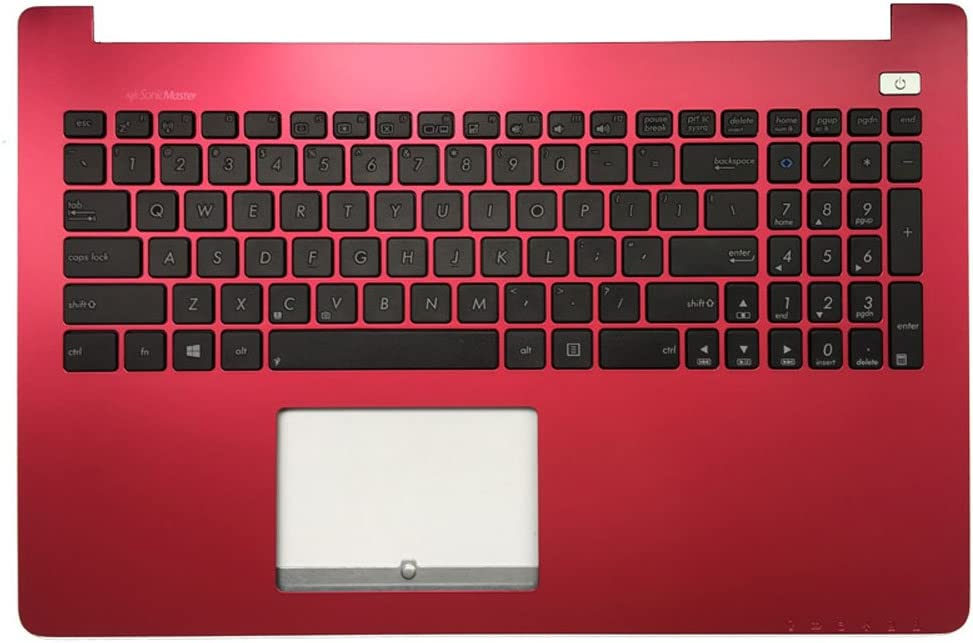 New Laptop Replacement Keyboard for Asus X502C X502CC X502CA X502 X502U X502EI X502X US Layout (with Red C Shell)