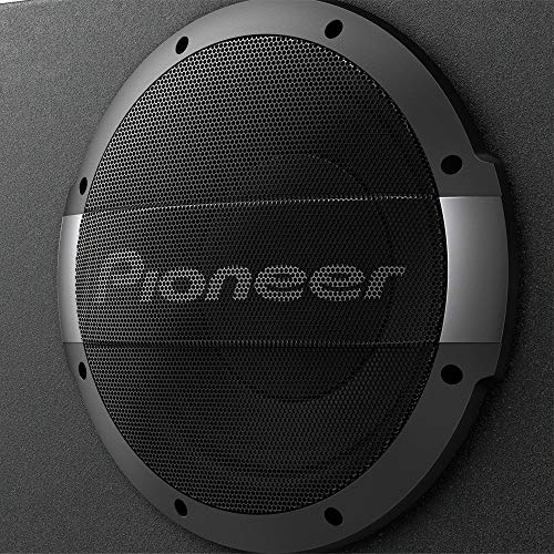 "PIONEER TS-WX1010LA 10"" Shallow Mount Sealed Enclosure with Built-in Amplifier"