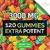 New Age Naturals Advanced Hemp Big Gummies 3000mg -120ct- 100% Natural Hemp Oil Infused Gummies #2