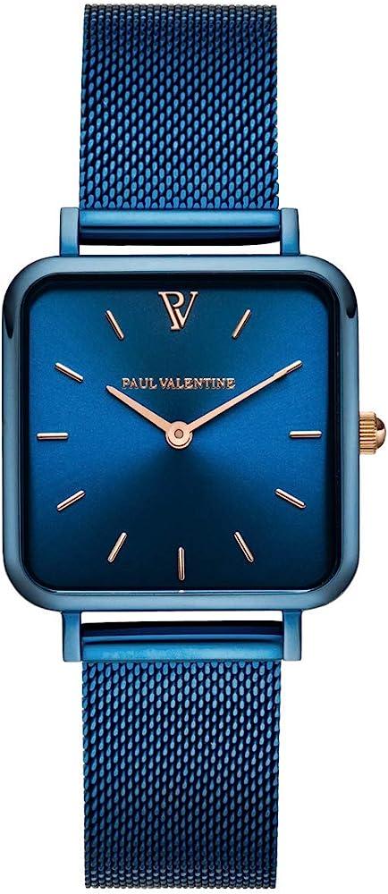 Paul valentine® orologio donna glossyedge in  acciaio inox PVR28431