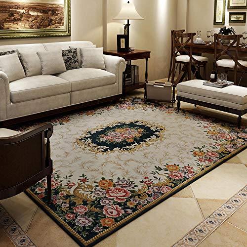 Teppiche großes Wohnzimmer Noppenteppiche Vintage Oriental Floral Schlafzimmer Teppiche Home Modern Geometric Kinderzimmer Eingangsbereich Teppiche