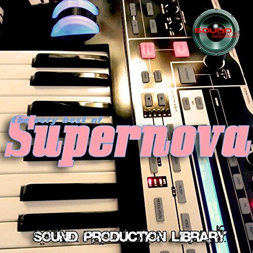 Super Nova – The Very Best OF/Original große 24bit WAVE mehrschichtige Samples Library auf CD