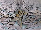 Spiffing Prints Piet Mondrian - Blossoming Apple Tree -