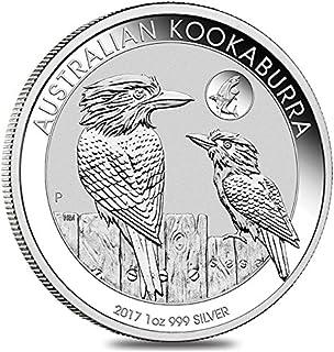 Australia Kookaburra 2017 1 OZ (G.) Plata 999 Silver Coin moneda Perth Mint