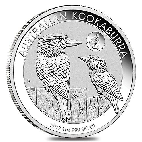 Onza de plata Kookaburra 2020. Plata 999, Perth Mint (Australia)