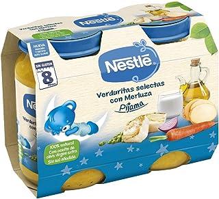 Nestlé Naturnes - Cena Verduritas Selectas con Merluza - A Partir de 8 Meses - Pack