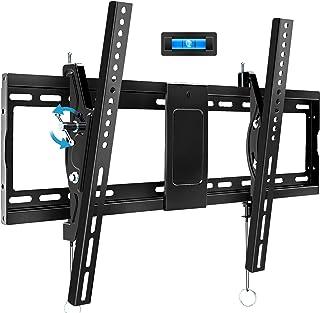دعامة جدارية لجهاز تلفزيون مائل من بلو-ستون لاجهزة التلفزيون من 32~83 بوصة، حامل جدار مع VESA يصل الى 600×400ملم، وزن حتى ...