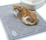 Vivaglory Cat Mat for Litter Box, Durable & Waterproof Cat Litter Rug, Large