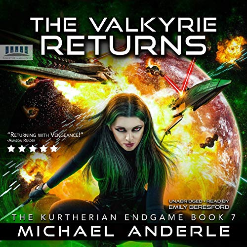 The Valkyrie Returns audiobook cover art