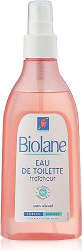 Biolane - Eau de toilette fraîcheur - spray 200 ml - Parfumer bébé - Fille Garçon - Fabriqué en France