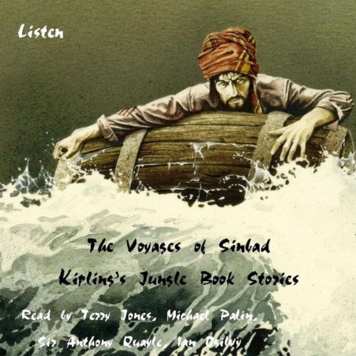 The Voyages of Sinbad and Kipling's Jungle Book Stories audiobook cover art