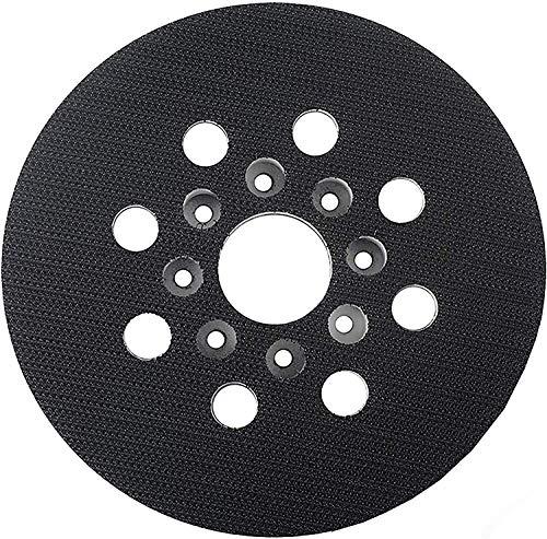 125mm Plato de Lijado Almohadilla de Repuesto Poweka Compatible con Bosch Lijadora RS035 GEX 125-1 AE, PEX 220 A, PEX 220 AE, Skil 7402/7490(1 piezas)