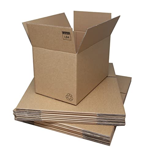 e7d10157844 10 Strong Heavy Duty Double Wall Cardboard Boxes Extra Large XL Size 30 x  20 x