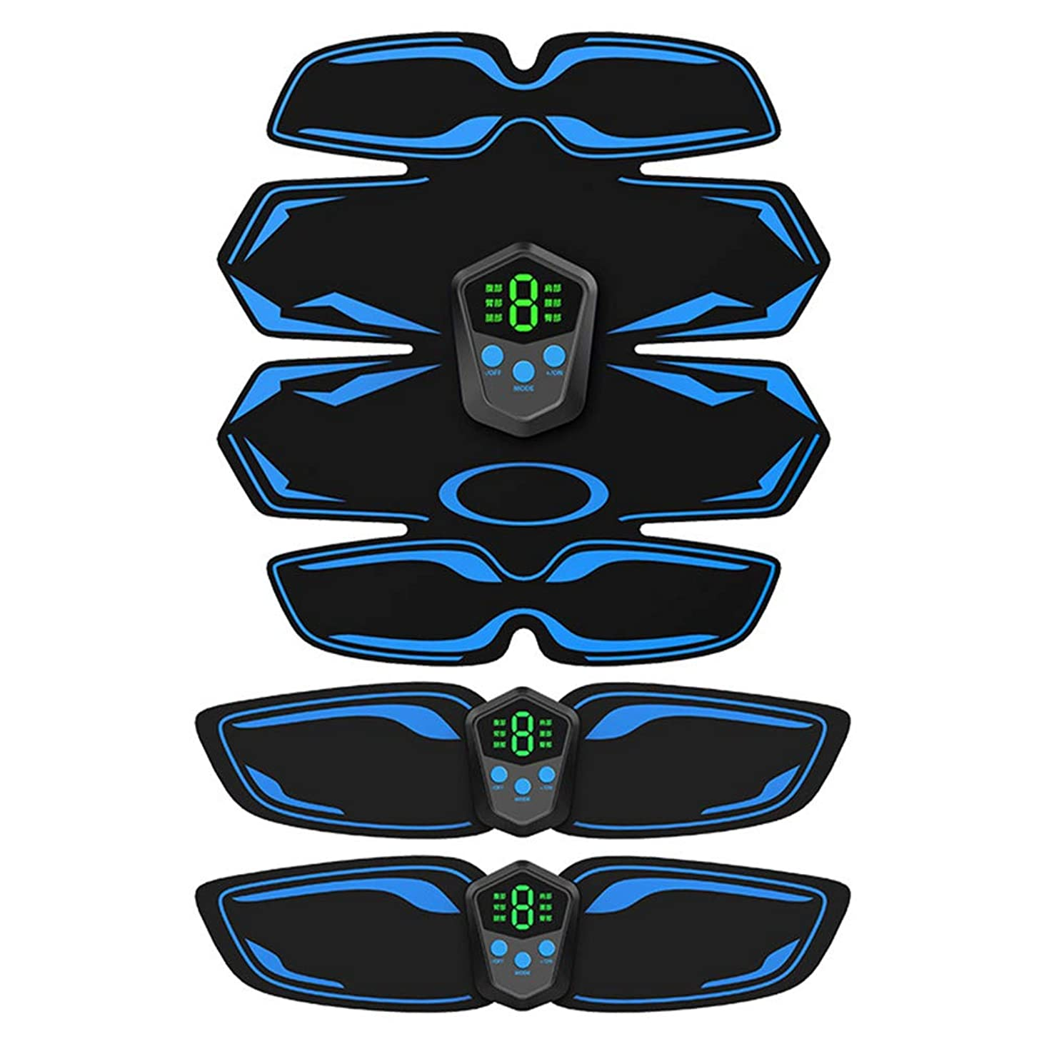 ぴったりオーケストラサーフィン充電フィットネス機器腹部マッサージ刺激スマートフィットネス電気減量ステッカー体重減少ベルト