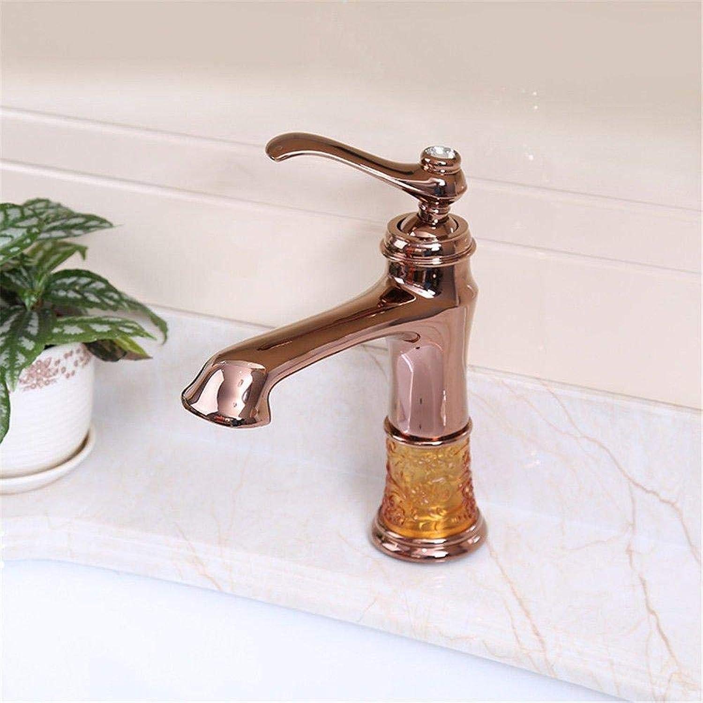 Wasserhahn Edelstahl Messing Chrom Bad Wasserhahn Küchenarmatur Vintage Messing Doppelgriff ein Loch Keramikventil heies und kaltes Wasser Bad Becken Wasserhahn