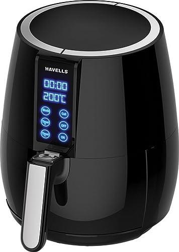 Havells Prolife Digi 1230 Watt Air Fryer Black