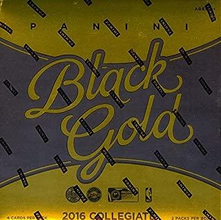 2016/17 Panini Black Gold Collegiate NCAA Basketball Hobby Box (2 Pack s-Sealed)