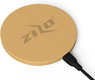 ZizoCharge Limited Edition Authentic Bamboo Wireless Charger Qi Certified Phone Charger