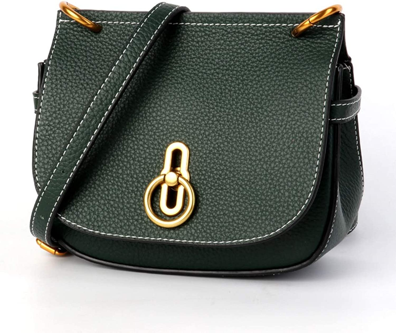 Ploekgda Lederhandtaschen Slung Lock Bag Satteltasche Mehrzweck