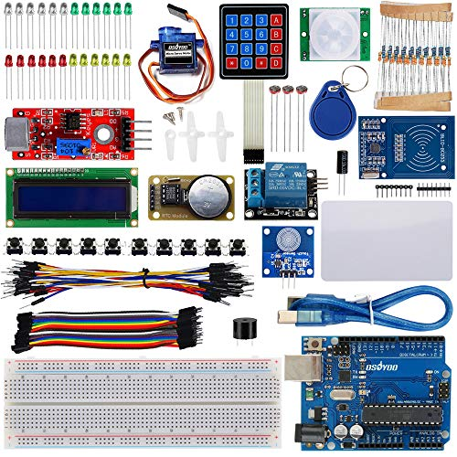 OSOYOO RFID Master Starter Kit Ultimate DIY Super Learning kit for Arduino + USB Cable + RFID Module