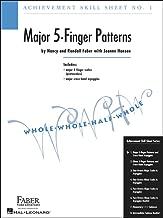 Faber Piano Adventures Achievement Skill Sheet No.1: Major 5-Finger Patterns - Faber Piano