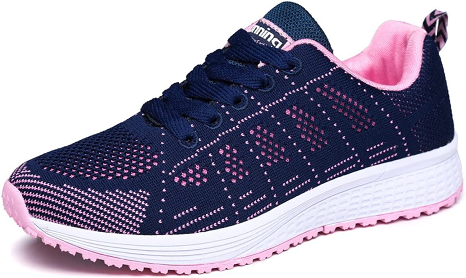 BERTERI Women's Running shoes Casual Lightweight Breathable Athletic Sneakers