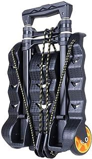 キャリー カート 荷物カート 折りたたみ 軽量 静音 固定ロープ付き ゴムひも付属 強い負荷容量
