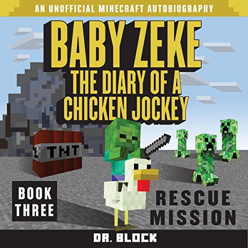 Baby Zeke Rescue Mission audiobook cover art