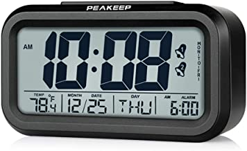 wood alarm clock manual