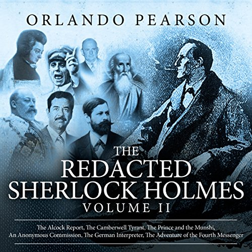 Couverture de The Redacted Sherlock Holmes, Volume II