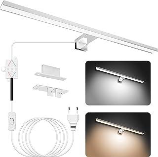 APONUO Mirror Light 60cm, LED Lampe de Salle de Bain Miroir Light 15W | 4000K | 6000K | 1500lm | IP44 | Éclairage D'armoir...
