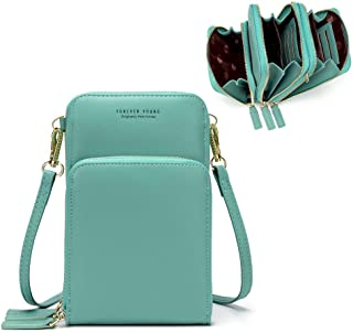 Small Crossbody Phone Bag for Women,Cellphone Shoulder Bags Card Holder Wallet Purse
