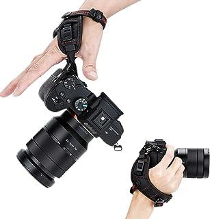 JJC ハンドストラップ リストストラップ Nikon Z6II Z7II Z5 Z50 Z7 Z6 D5600 D5500 D5300 D5200 D5100 D5000 D3500 D3400 D3300 Panasonic S1H S1R...